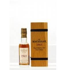 Macallan 36 Years Old 1965 - Fine & Rare Miniature