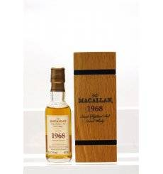 Macallan 34 Years Old 1968 - Fine & Rare Miniature