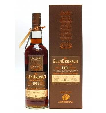 Glendronach 38 Years Old 1971 - Single Cask No.483