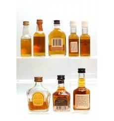 Assorted Bourbon Miniatures x 8