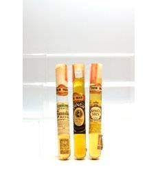 Assorted Cigar Shaped Miniatures x3