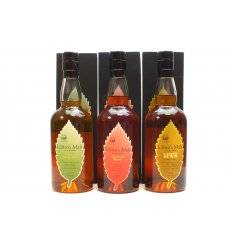 Ichiro's Malt WWR, MWR & Double Distilleries (70cl x3)