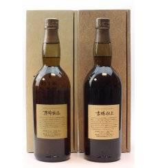 Hakushu 1981 Kioke Shikomi Pure Malt & 1991 Furudaru Shiage  - Suntory Pure Malt