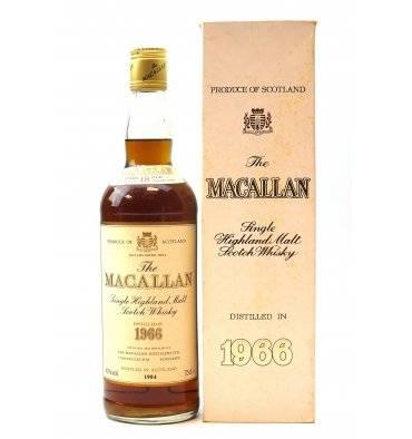 Macallan 18 Years Old 1966