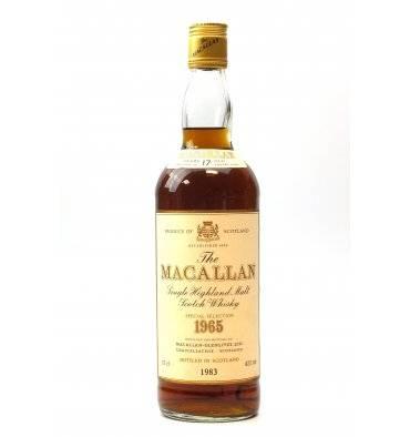Macllan 17 Years Old 1965