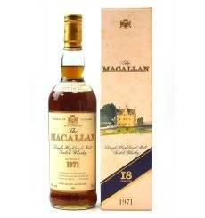 Macallan 18 Years Old 1971