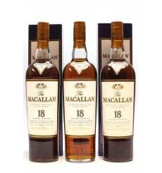 Macallan 18 Years Old 1995 (x2) & 1994 (x1)