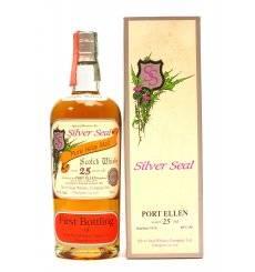 Port Ellen 25 Years Old 1975 - Silver Seal First Bottling