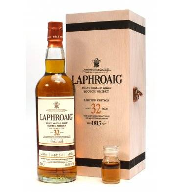 Laphroaig 32 Years Old - Oloroso Sherry Limited Edition + Sample
