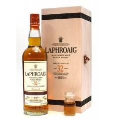 Laphroaig 32 Years Old - Oloroso Sherry Limited Edition + Sample