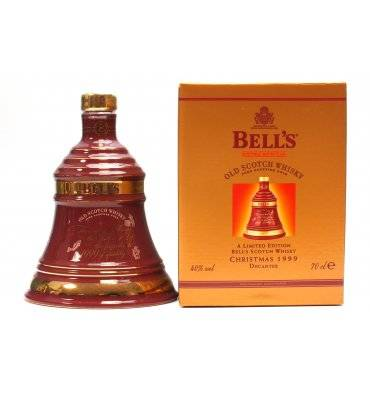 Bell's Decanter - Christmas 1999