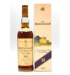 Macallan 18 Years Old 1974