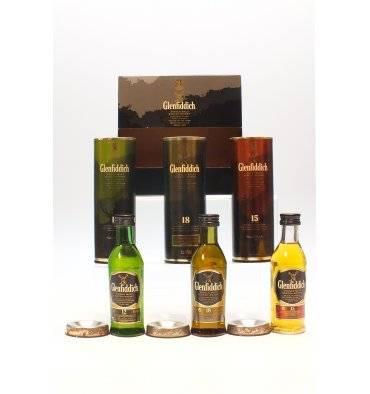 Glenfiddich Miniature Set - 5cl x3