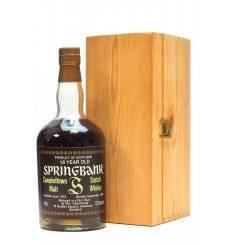 Springbank 18 Years Old 1973 - 1991 Cadenhead's 'Green' Rum Butt