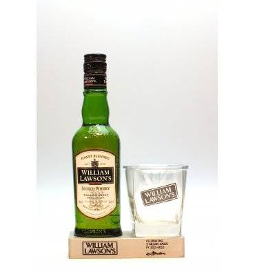 William Lawson's - Celebrating 2 Million Cases (35ml) With Glass