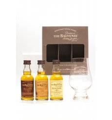 Balvenie Miniature Set with Glass