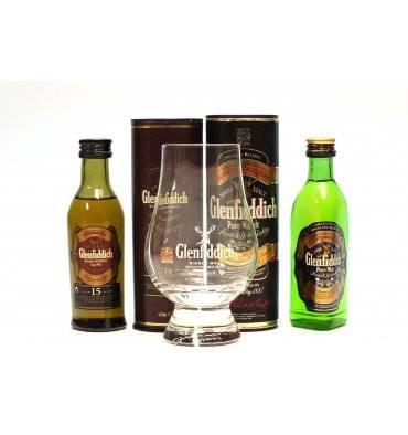 Glenfiddich Miniatures With Glass (2x5cl)