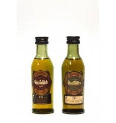 Glenfiddich Miniature Gift Set With Glass (2x5cl)