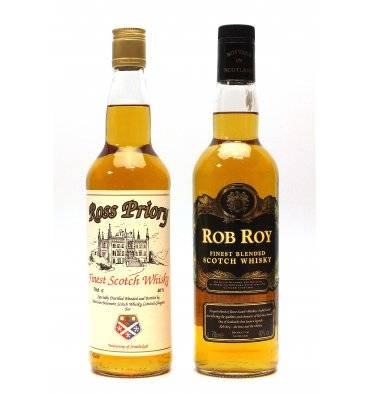 Rob Roy & Ross Priory Blended Whisky