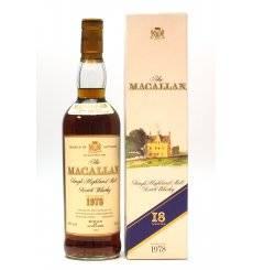 Macallan 18 Years Old 1978