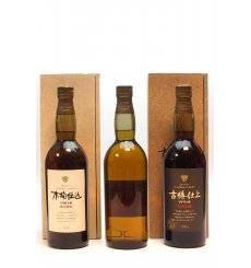 Hakushu 1981(x2) & 1991(x1) Kioke Shikomi - Suntory Pure Malt