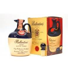 Ballantine's Blue Ceramic Decanter