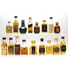 Assorted Blended Miniatures x17 - Incl Old Rarity 12