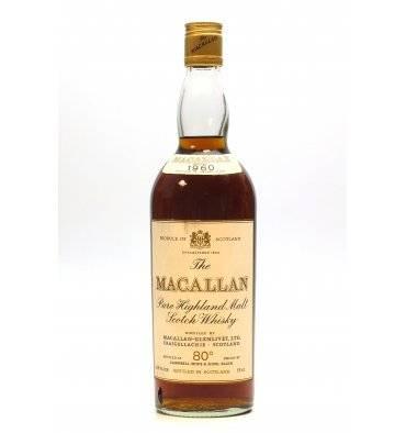 Macallan 1960 - 80° Proof