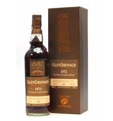 Glendronach 43 Years Old 1972 - Single Cask No.706