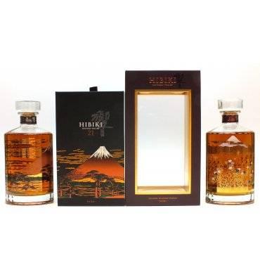 Hibiki 21 Mount Fuji  & 17 Mount Fuji