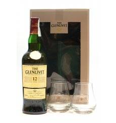 Glenlivet 12 Years Old Gift Pack with Glasses