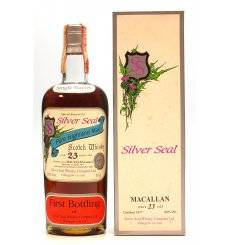 Macallan 23 Years Old 1977 - Silver Seal First Bottling