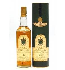 Macallan 25 Years Old 1972 - Hart Brothers Finest Collection