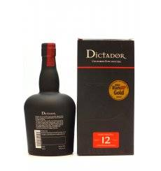Dictador 12 Years Old - Solera System Rum