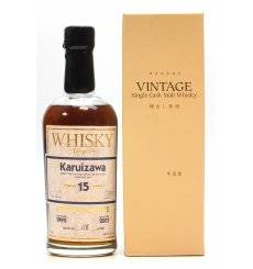 Karuizawa 15 Years Old - Whisky Magazine Editor's Choice