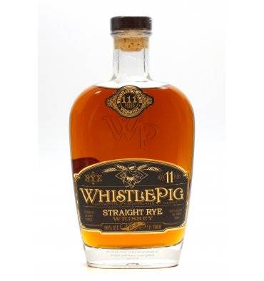 Whistle Pig 11 Years Old - Straight Rye Whiskey 111° Proof