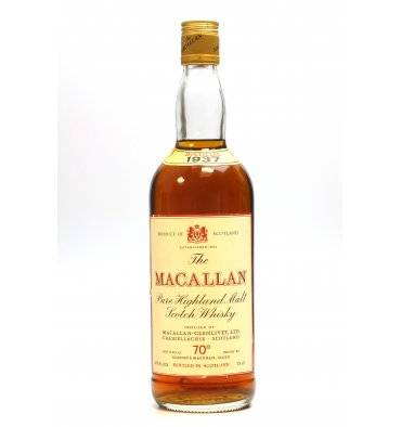 Macallan 1937 - 70 Proof