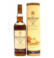 Macallan 18 Years Old 1985