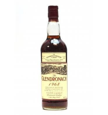Glendronach 1968 - Re-opening of Glendronach Distillery 2002