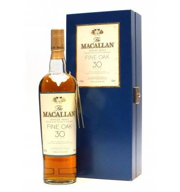 Macallan 30 Years Old - Fine Oak (Not Original Box)