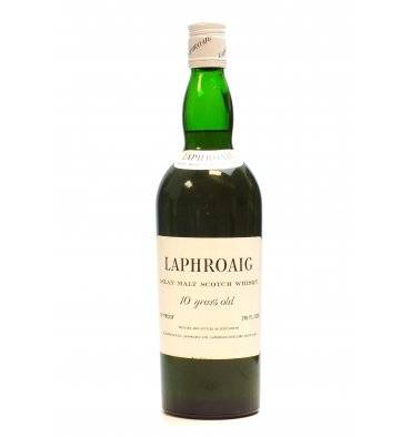 Laphroaig 10 Years Old - Pre Royal Warrant (26 ⅔ Fl Ozs)