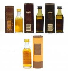 Assorted Miniatures X4 - Incl Benromach 12 Years Old