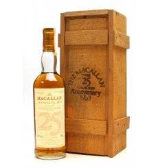 Macallan Over 25 Years Old 1965 - Anniversary Malt