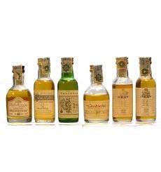 Assorted Classic Malts Miniatures x 6