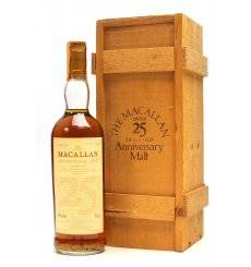 Macallan Over 25 Years Old 1965 - Anniversary Malt