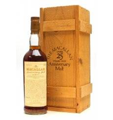Macallan Over 25 Years Old 1958/59 - Anniversary Malt