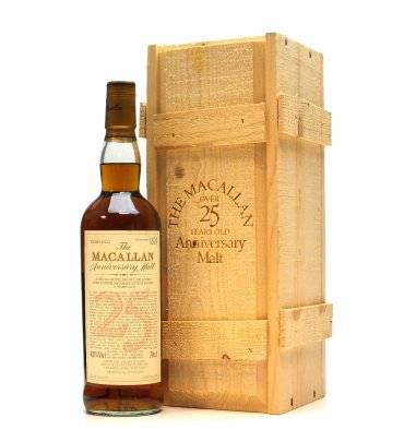Macallan Over 25 Years Old 1975 - Anniversary Malt