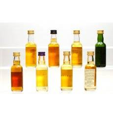 Assorted Miniatures x8 - Incl Glendronach 12 Traditional