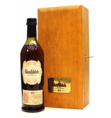 Glenfiddich 40 Years Old - Rare Collection