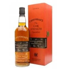 Glenburgie - Glenlivet 37 Years Old 1962 - Cadenhead's Cask Strength Millennium Bottling